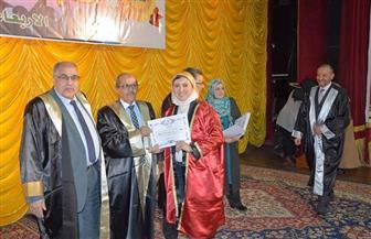 تكريم 550 من العاملين المتميزين بجامعة الفيوم | صور