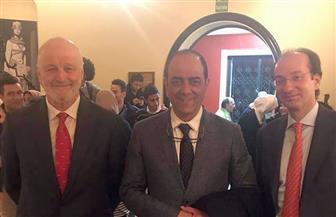 نائب رئيس الحركة الوطنية يشارك في احتفالات الذكرى الأربعين للدستور الإسباني |صور