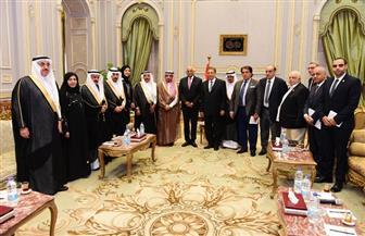 علي عبد العال يلتقي مع رئيس وأعضاء جمعية الصداقة البرلمانية المصرية - السعودية | صور