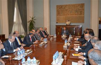 خلال اجتماعه مع قيادات الوزارة.. شكري يؤكد أهمية مواصلة الجهود والعمل لتنفيذ تكليفات القيادة السياسية