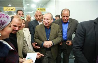 محافظ كفر الشيخ يفتتح المركز التكنولوجي لخدمة المواطنين بفوه بتكلفة 854 ألف جنيه | فيديو وصور