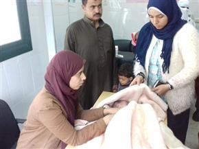 فحص 1508 مواطنين وندوات تثقيفية في قافلة طبية لجامعة الزقازيق بكفر شاويش
