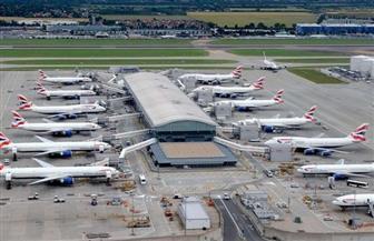 تعليق الرحلات بمطار جاتويك في لندن بسبب تقارير عن وجود طائرتين بدون طيار