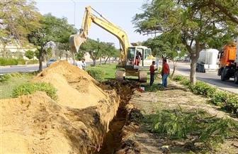 إجراءات حاسمة من جهاز مدينة السادات ضد مخالفات الصرف الصناعي