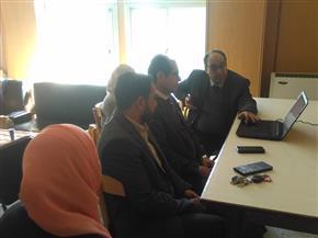 بدء التصحيح الإلكتروني بكلية الدراسات الإسلامية والعربية للبنين بالزقازيق