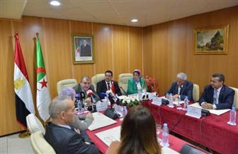 تدشين المجموعة البرلمانية للصداقة المصرية الجزائرية