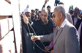 وزير الزراعة يفتتح محطة الطاقة الشمسية لإنارة منازل كلابشة| صور
