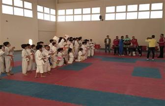 الاستاد الرياضي بطور سيناء يستضيف البطولة التنشيطية الثانية للكاراتيه| صور