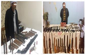 ضبط ورشة لتصنيع الأسلحة النارية بالدقهلية.. وآخر للإتجار في الذخائر بالبحيرة