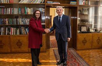 الرئيس البوسني يستقبل السفيرة المصرية لدى البوسنة والهرسك