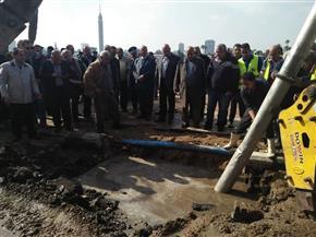 محافظ القاهرة: تعديل مسار حركة المرور على كورنيش النيل بسبب كسر في ماسورة مياه