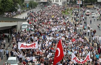 تظاهر الآلاف احتجاجا على غلاء المعيشة وارتفاع معدل التضخم في تركيا