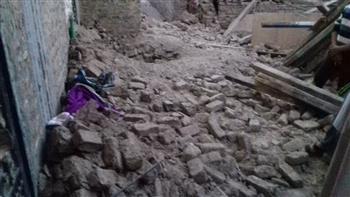 انهيار منزلين بكوم أمبو دون خسائر في الأرواح