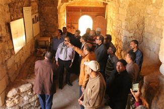 رئيس قطاع الآثار الإسلامية يتفقد آثار مدينة القصير بالبحر الأحمر | صور