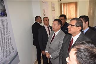 وزير القوى العاملة يفتتح الملتقى الأول للسلامة والصحة المهنية في بني سويف | صور