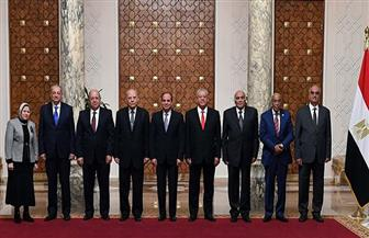 تفاصيل اجتماع الرئيس السيسي مع أعضاء مجلس الهيئات القضائية| صور