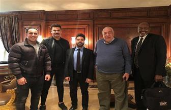 """رئيس اتحاد كمال الأجسام يلتقي برئيس اتحاد """"ستريت وورك آوت"""" لمناقشة تطورات الرياضة المصرية"""