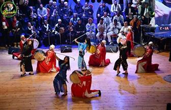 الغربية للفنون الشعبية تشارك بعروض متنوعة في احتفالات بورسعيد بعيدها القومي | صور