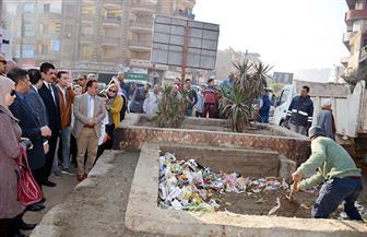 إزالة 30 طنا من القمامة بمدينة طوخ فى بالقليوبية | صور