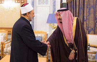 خادم الحرمين الشريفين يستقبل الإمام الأكبر شيخ الأزهر الشريف