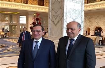 الملا يبحث مع وزير الطاقة العراقي فرص توسع الشركات المصرية في بغداد | صور