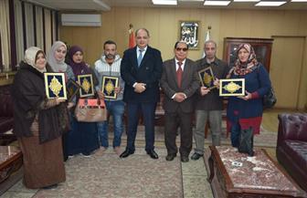 """محافظ الغربية يكرم الفائزين في مسابقة """"الرسول"""" الرمضانية   صور"""