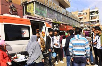 """""""مستقبل وطن"""" بقنا يطلق أول حملة للتبرع بالدم"""