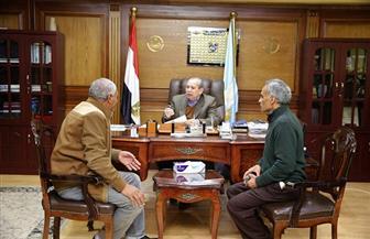 محافظ كفر الشيخ يبحث عددا من الملفات مع مدير قطاع الإنتاج بمركز البحوث الزراعية   فيديو وصور