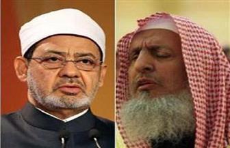 الإمام الأكبر يلتقي مفتي المملكة العربية السعودية