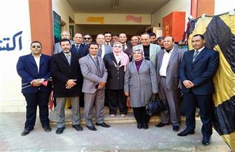 افتتاح معرض خيري للملابس للطلبة غير القادرين بكفر الشيخ  صور