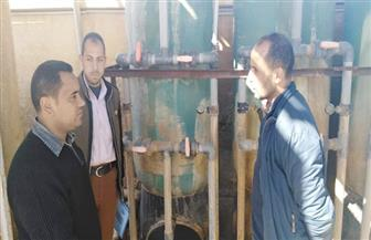 """تطهير محطة تحلية مياه مدينة """"نخل"""" بوسط سيناء   صور"""