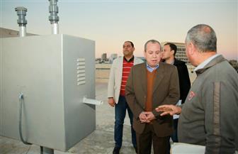 محافظ كفرالشيخ يتفقد محطة رصد لحظية لملوثات الهواء | فيديو