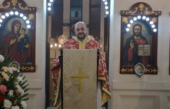 محافظ الدقهلية يشهد احتفال كنيسة نيقولاوس بأعياد الميلاد  صور