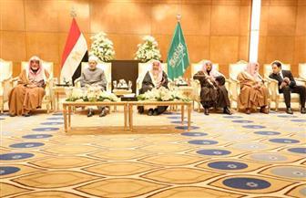احتفاء رسمي كبير بزيارة الإمام الأكبر إلى  السعودية | صور