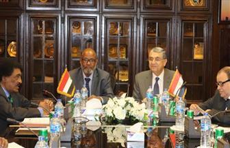 وزير الكهرباء يلتقي نظيره السوداني لبحث سبل التعاون في قطاع الطاقة