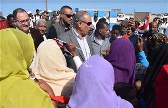 أهالي الشلاتين يشكرون الرئيس السيسي على اهتمامه بهم وإقامة المشروعات | صور