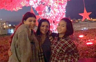 رانيا يوسف تحتفل بالكريسماس مع ابنتيها