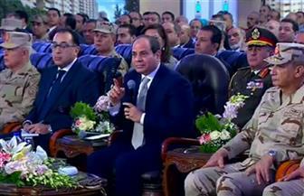 الرئيس السيسي: كل مسئول ينتبه لكل قرش يتم صرفه.. كي يأخذ المواطن حقه والدولة أيضا