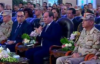 الرئيس السيسي: عدادات الكهرباء والغاز والمياه بالوحدات الجديدة يجب أن تكون مسبوقة الدفع