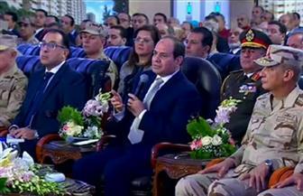 الرئيس السيسي يوجه بدراسة الترام المعلق لتيسير الحركة المرورية بالإسكندرية