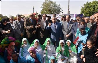 محافظ أسوان يطلق فعاليات الاحتفال باليوم العالمي للمعاق| صور