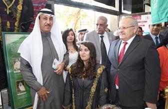 الملحقية السعودية تشارك في الملتقى الأول للثقافات بجامعة القاهرة   صور