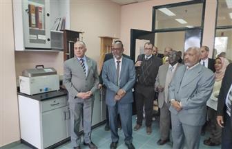 وزير الري يصطحب نظيره السوداني في جولة تفقدية لمعاهد المركز القومي لبحوث المياه | صور
