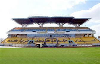 تطوير أرضية ملعب استاد الإسماعيلية