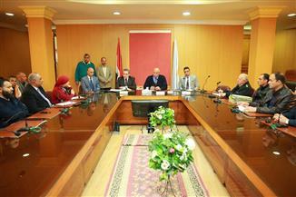 سكرتير عام كفرالشيخ يعقد اجتماعا لمتابعة إزالة التعديات وحماية أملاك الدولة في المحافظة | صور