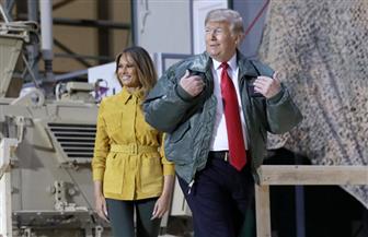 ترامب وميلانيا في زيارة مفاجئة إلى العراق