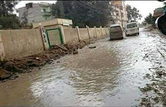"""أهالي """"منشأة السلام"""" يناشدون محافظ الدقهلية رصف الطريق الرئيسي بمدخل القرية  صور"""