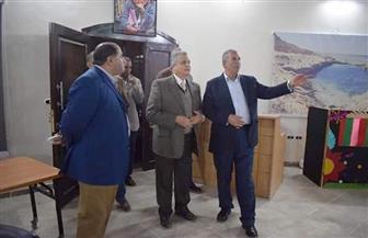 محافظ البحر الأحمر يتفقد فرع مكتبة مصر بمرسى علم |صور