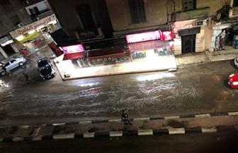 أغرقت الشوارع وقطعت الكهرباء.. استمرار هطول الأمطار على مدن وقرى كفرالشيخ