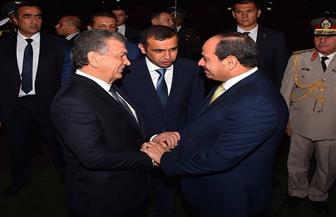 مستشار الرئيس الأوزبكي ووفد رفيع المستوى يزور مصر الشهر المقبل